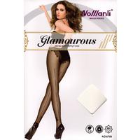 Sheer Jacquard Pattern Stocking